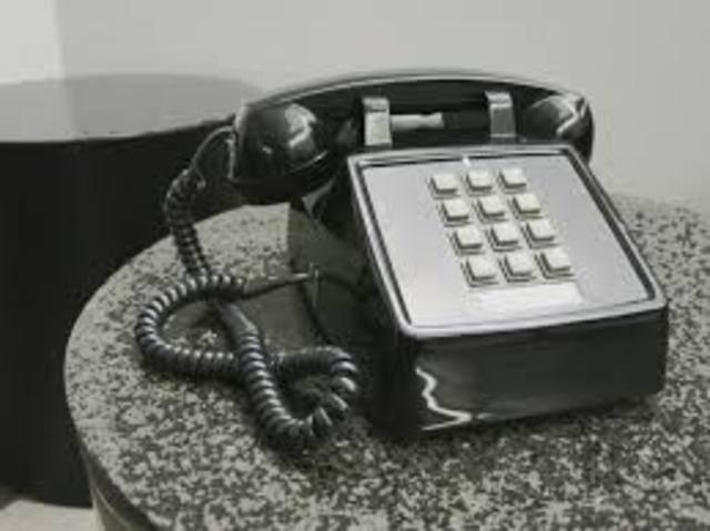 invention of the push button phone
