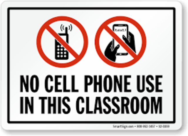 Schools started thinking of the idea of using cell phones in classrooms ,only for learning purposes