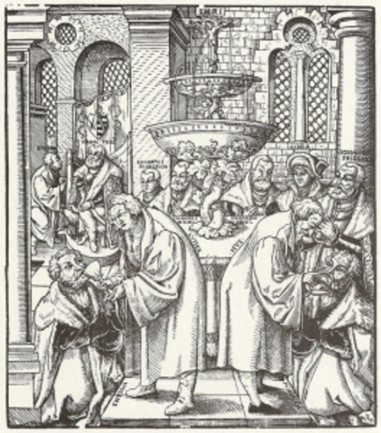 First Protestant Mass
