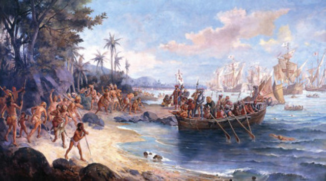 Portugese colonize Brazil