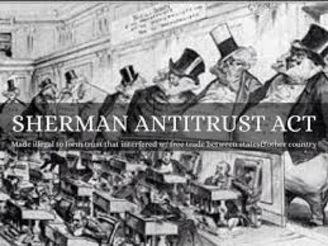 Sherman Antitrust Act