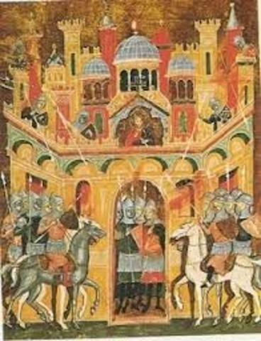 Toma de la ciudad Sagrada Jerusalén
