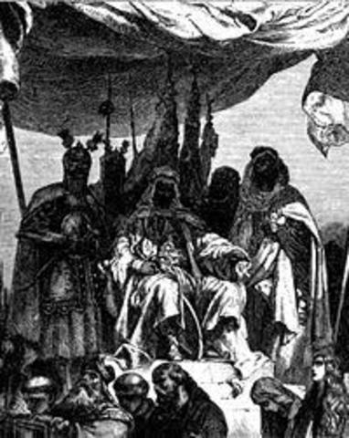 Firma de Tratado de Paz de la Tercera Cruzada Tratado de Ramla