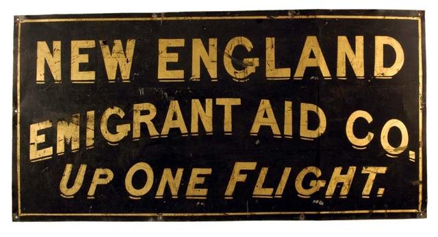 Emigrant aid societies