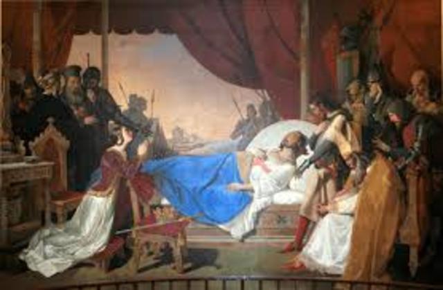 Cruzada VIII dirigida por Luis IX Rey de Francia o conocido también como San Luis