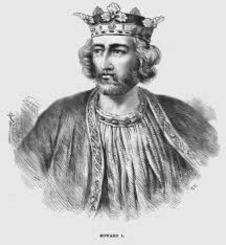 Cruzada IX dirigida por Eduardo I de Inglaterra