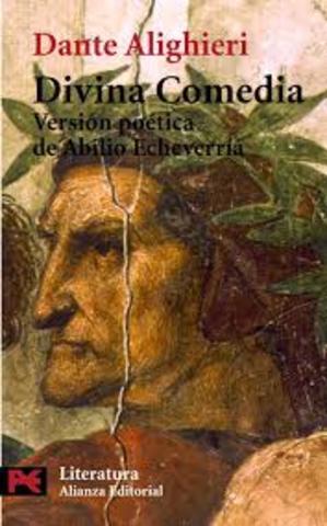 se escribe La Divina Comedia por Dante Alighieri