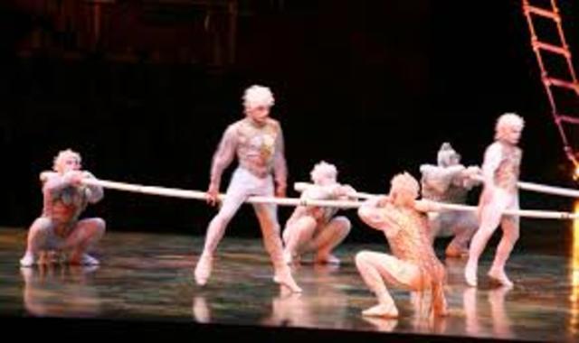 Cirque du Soleil i Apple Corps