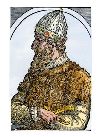 Became Grand Prince of Moscow in 1533