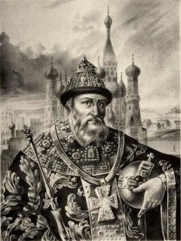 Becomes the First Czar/Tsar of Russia in 1547