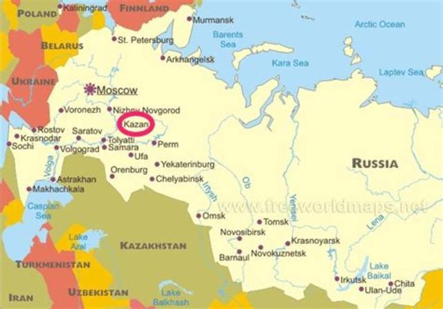 Took Control of Kazan and Astrakhan