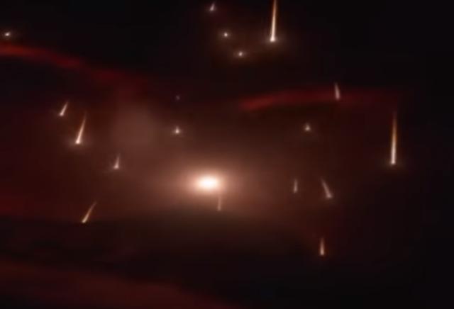 Luvia de meteoritos