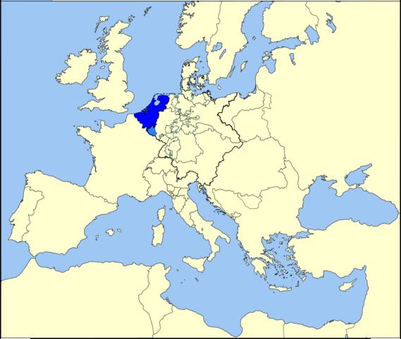 Protestant Netherlands Revolts Against Catholic Spain