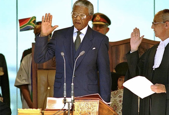 First Black President of South Africa