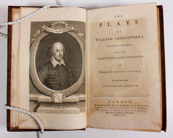 Thirty-six Shakespeare plays