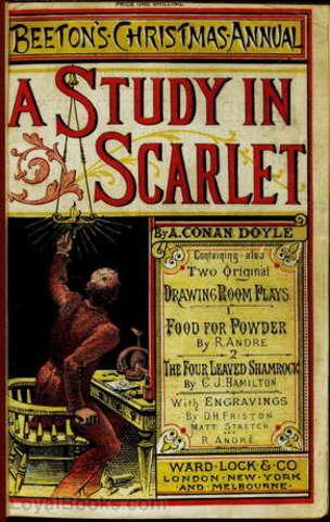 Conan Doyle, A Study in Scarlet