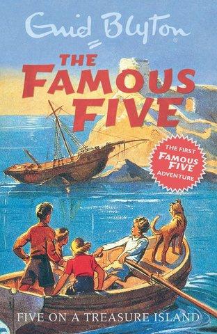 Five in Five on a Treasure Island