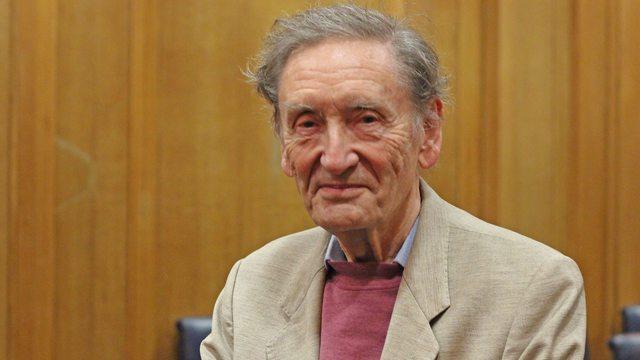 English biographer Michael Holroyd