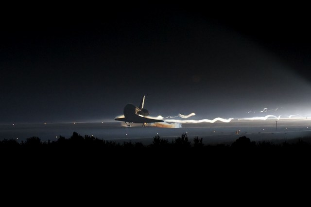 La ultima space shuttle