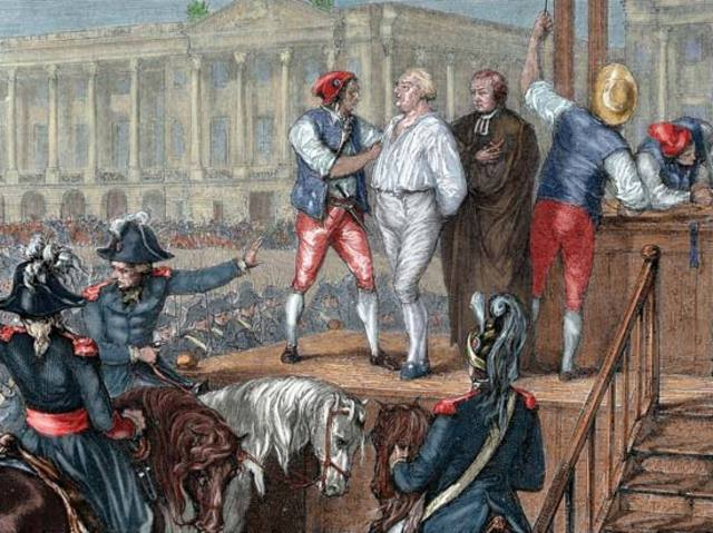 The out break of French Revolution