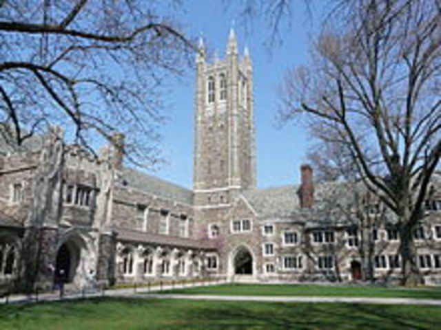 Alan goes to Princeton