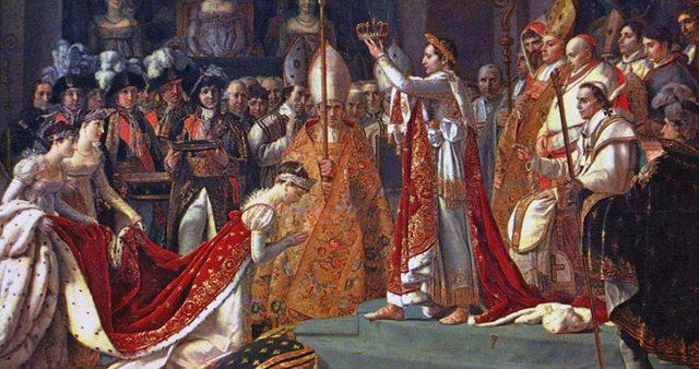 Napoleon Crowns Himself Emperor of France