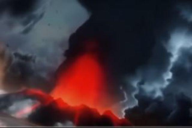 Las islas volcánicas aparecen.