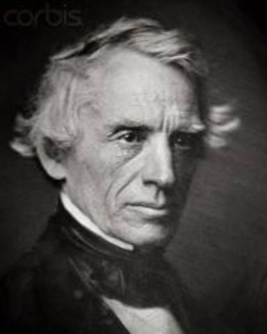 Samuel F.B Morse invents the Telegraph