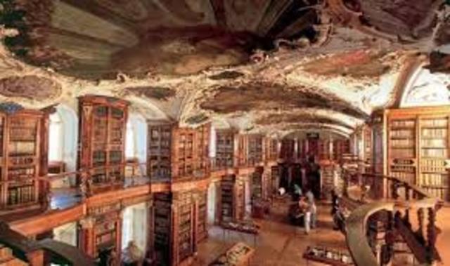 Cosimo de medici funda la biblioteca medici