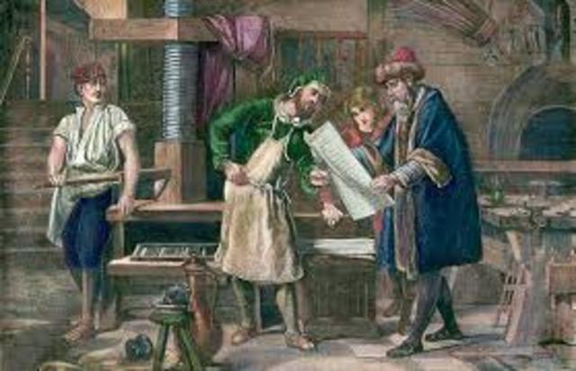 Gutenberg: inventa la imprenta movible