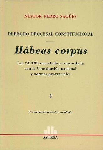 Ley Habeas Corpus