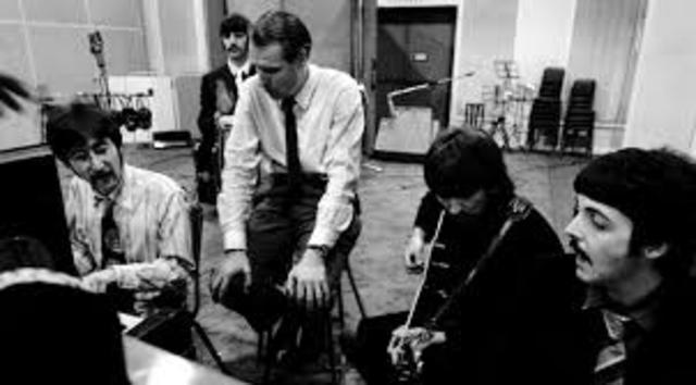 Firma amb els Beatles