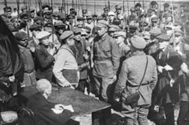 Гражданская война в России - вооруженное противостояние в 1917-1922 гг.
