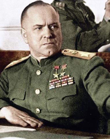 Г.К. Жуков - Советский военачальник, четырежды Герой Советского Союза, великий полководец.