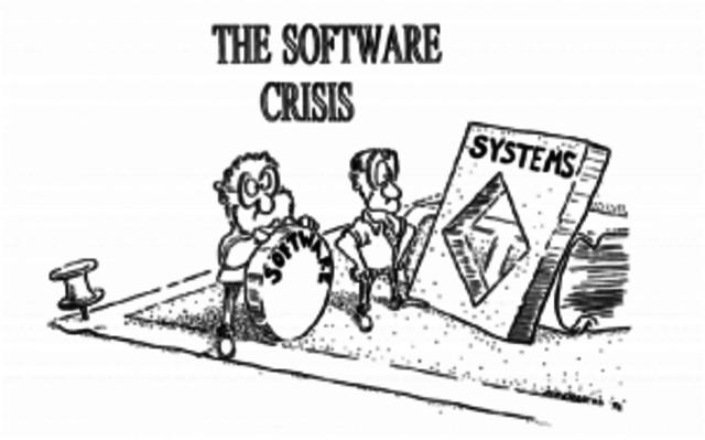 Inicio de la crisis del software.