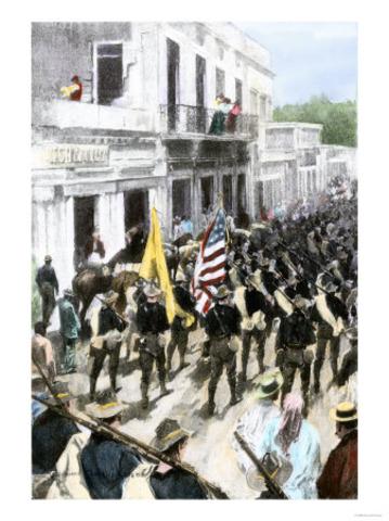 U.S. Descent Upon Puerto Rico (Span Am War)