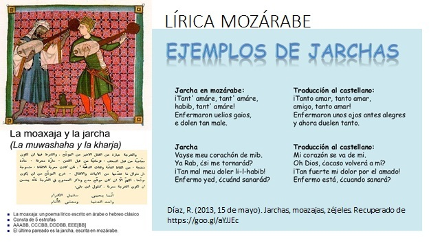 LÍRICA MOZÁRABE
