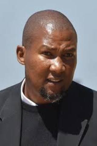 Grandson Mandla Mandela