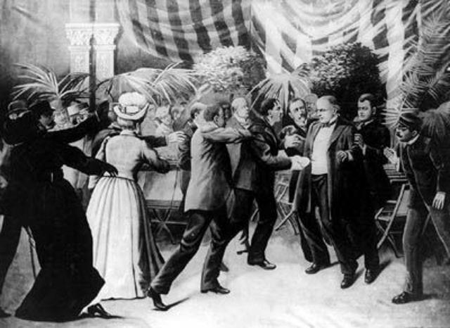 President McKinley assasinated