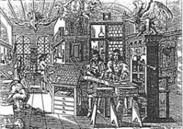 Comenzaron a imprimirse libros en venecia