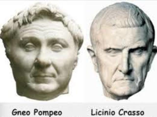Pompeo e Crasso consoli