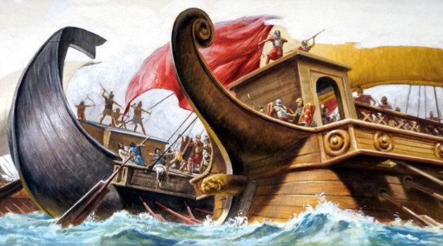 Pompeo contro i pirati