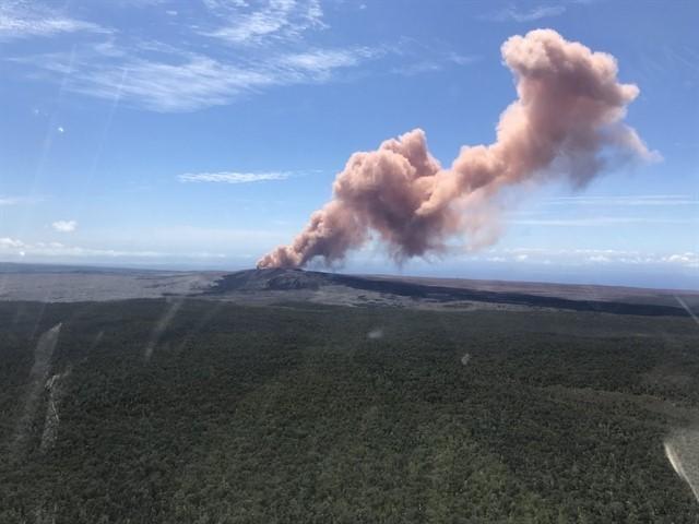 Erupció del volcà de l'illa de Thera