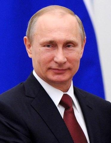 В.В.Путин - политический деятель, президент России