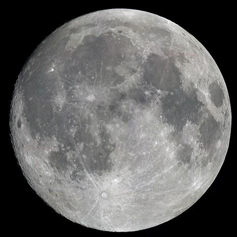 La creación de la luna