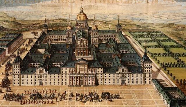 Construccion del monasterio de el escorial