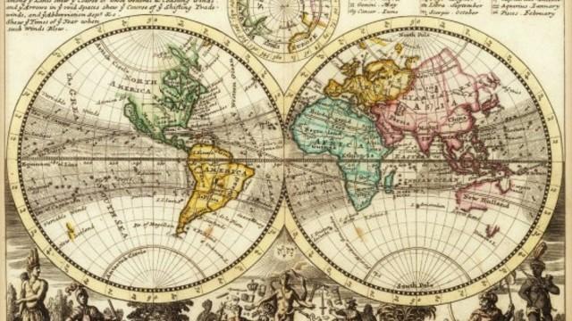 Mercator publica el primer plano completo del mundo