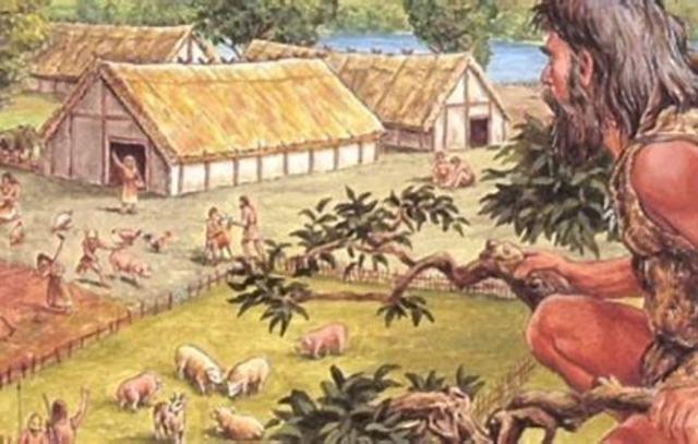 ! Begin van de landbouw in het Midden-Oosten/ eerste landbouwnederzettingen