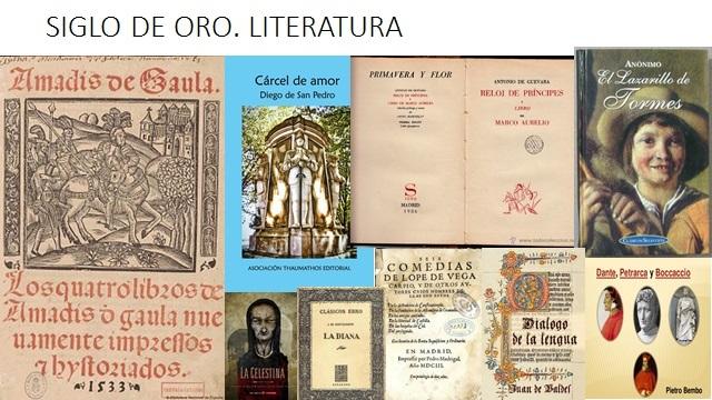 SIGLO DE ORO. LITERATURA