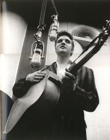 Elvis' 1st time recording